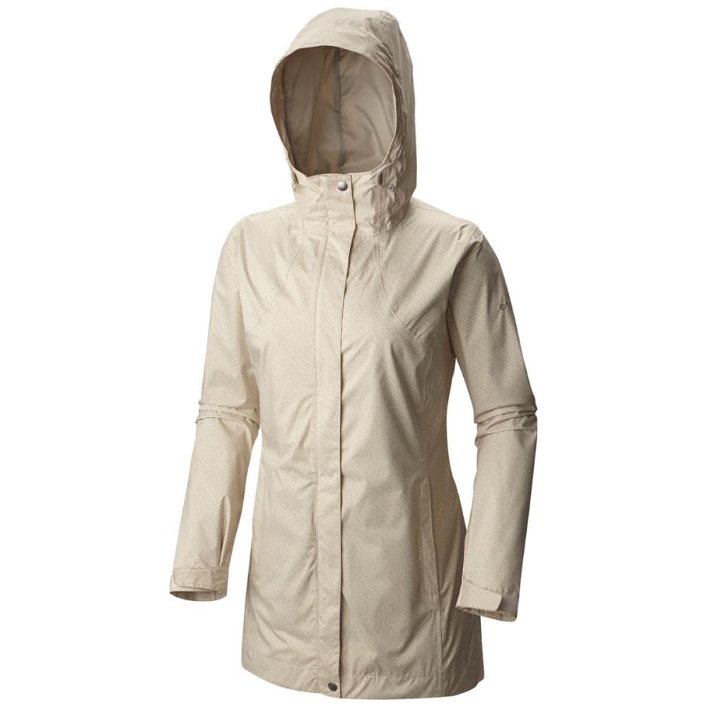COLUMBIA Women's Splash A Little Rain Jacket - 192-SEA SALT DOTTY D