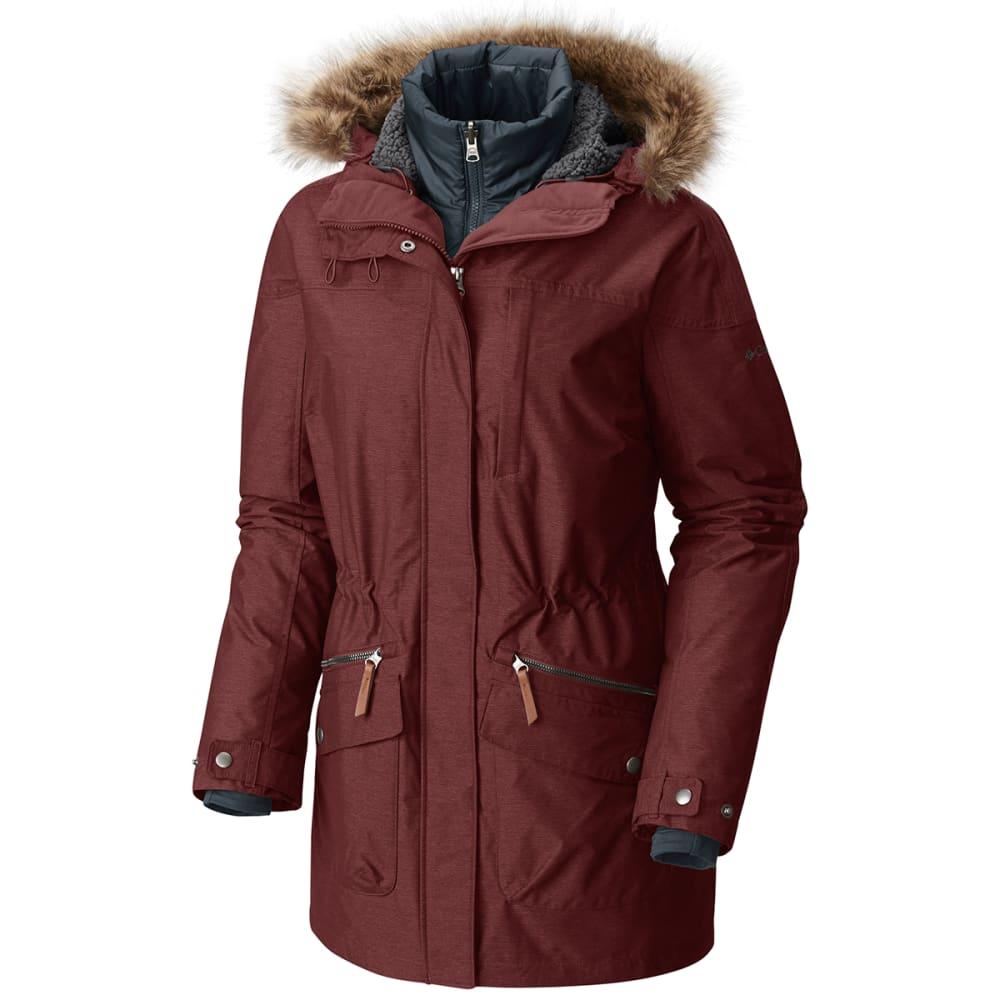 COLUMBIA Women's Carson Pass™ IC Jacket - 837-DEEP RUST/MYSTER