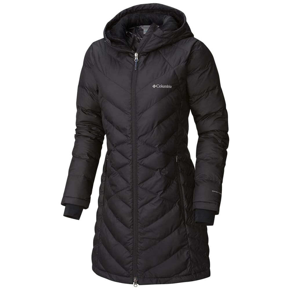 COLUMBIA Women's Heavenly Long Hooded Jacket - 010-BLACK