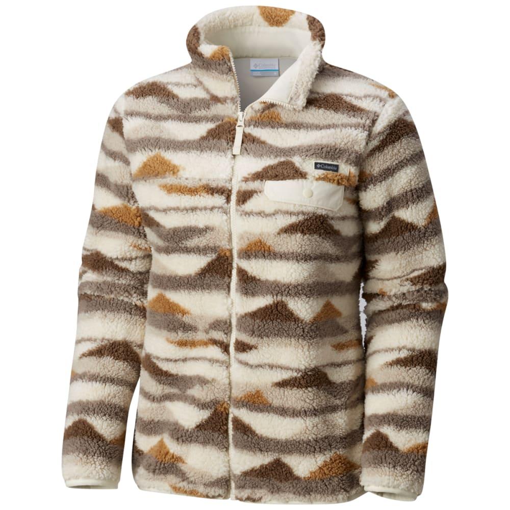 COLUMBIA Women's Mountain Side Heavyweight Fleece Full Zip Jacket XS