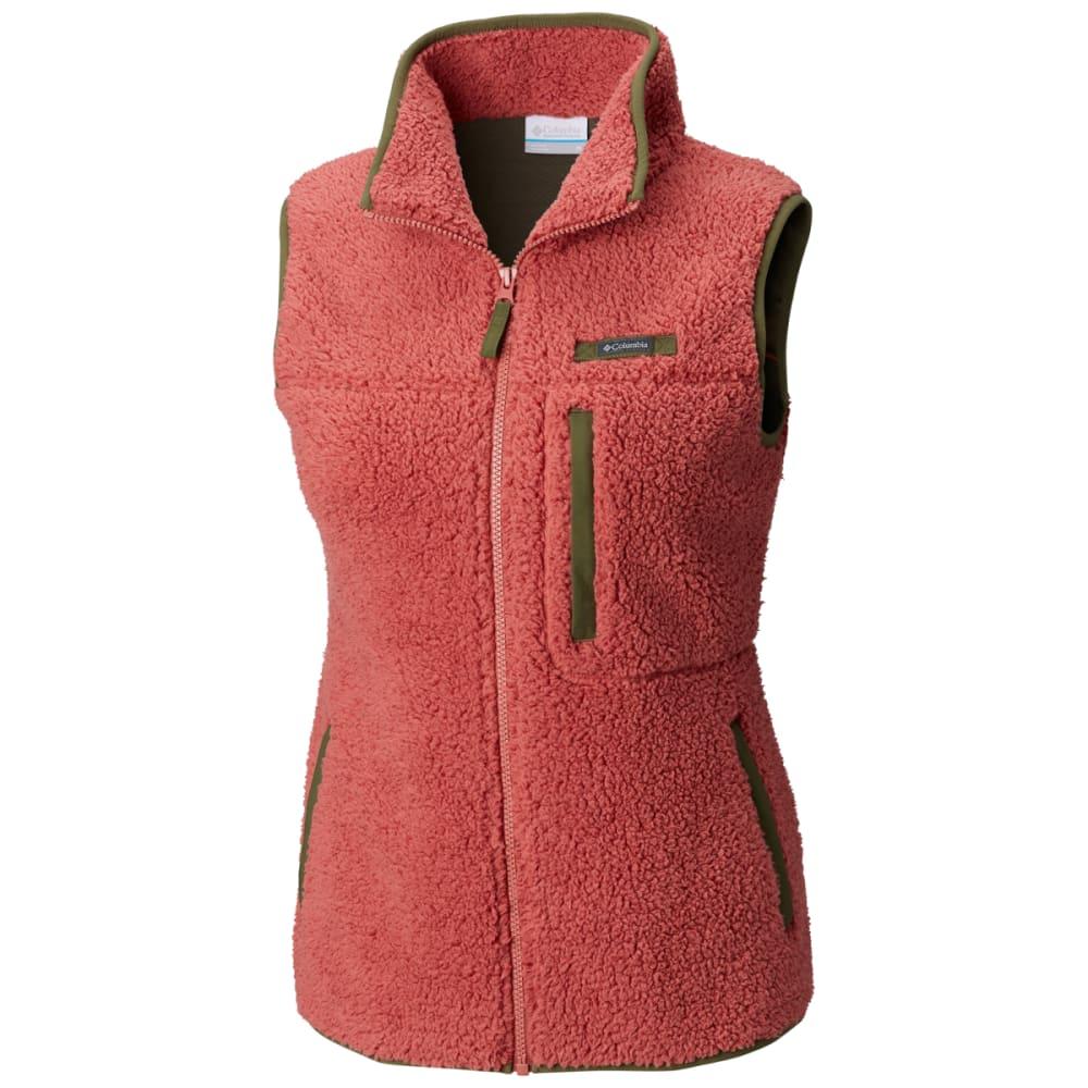 COLUMBIA Women's Mountain Side Heavyweight Fleece Vest XS