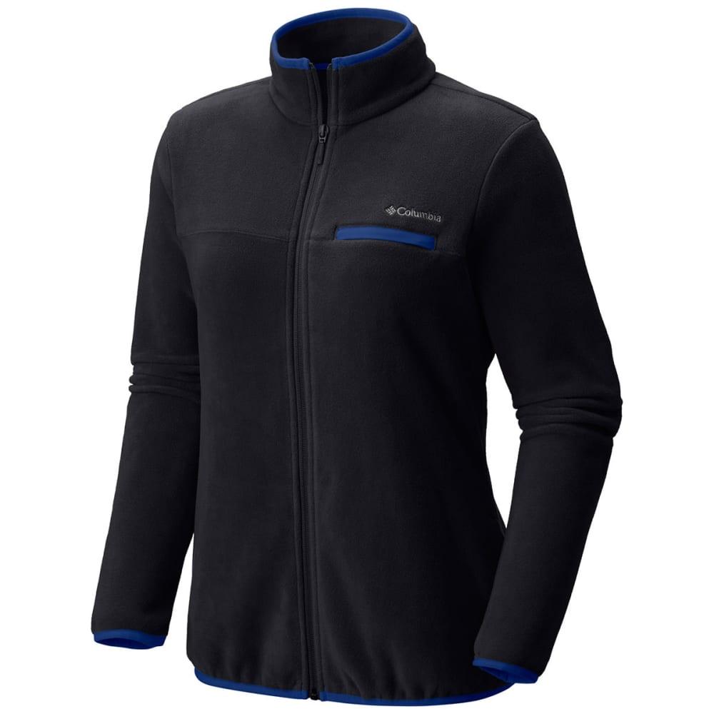 COLUMBIA Women's Mountain Crest™ Full-Zip Fleece Jacket - 010-BLACK/DYNASTY