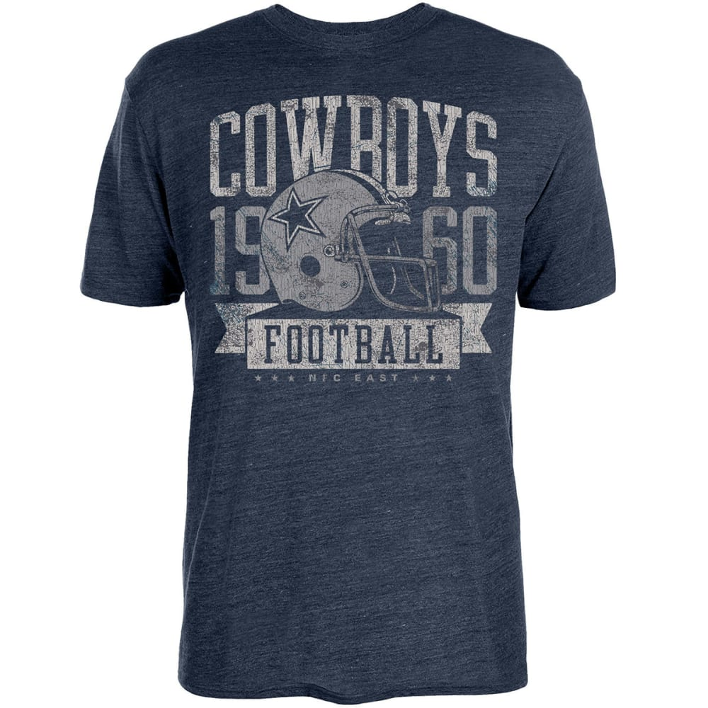 Dallas Cowboys Men's Keggs Helmet Short-Sleeve Tee - Blue, M