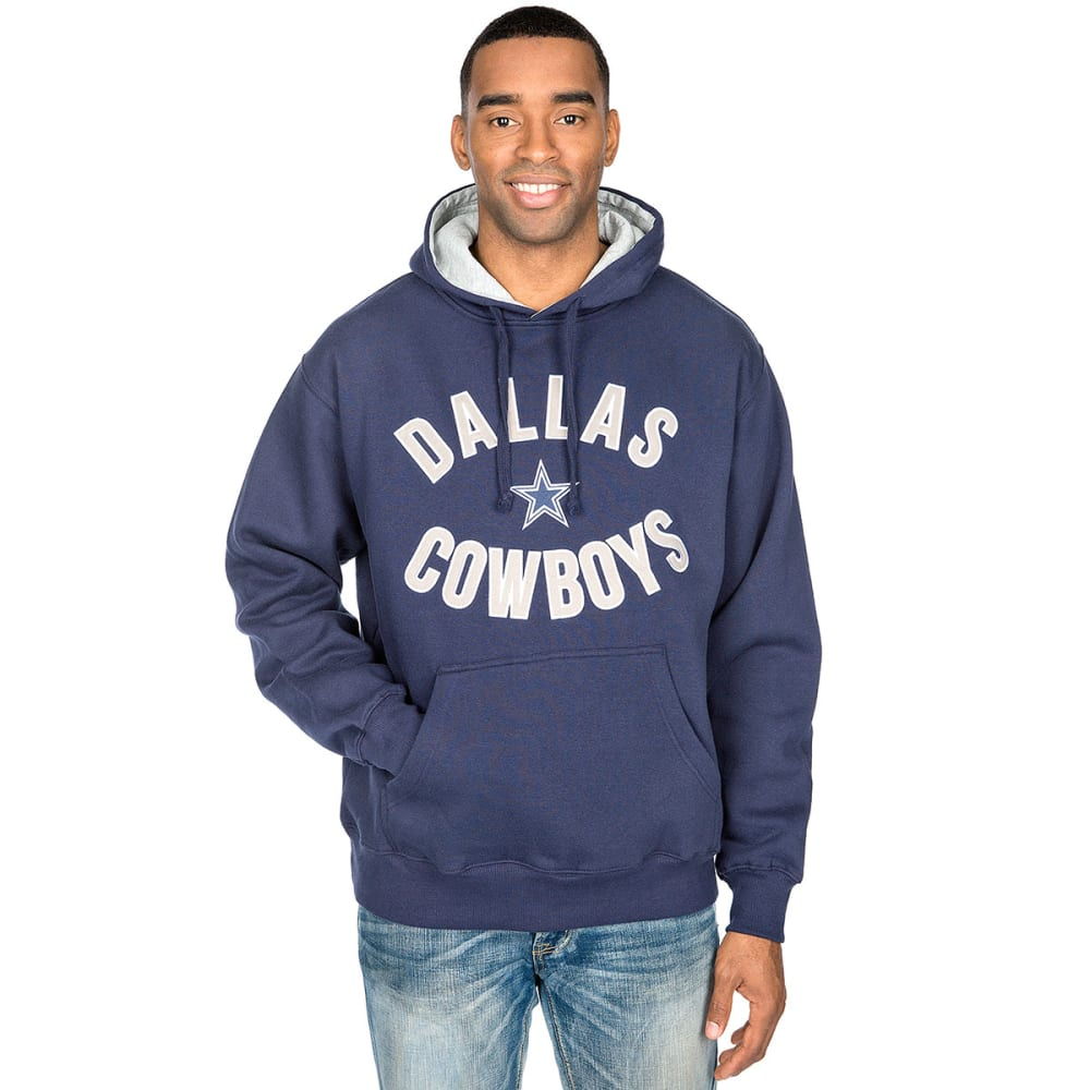 DALLAS COWBOYS Men's Welch Pullover Hoodie - NVY DC83837MU