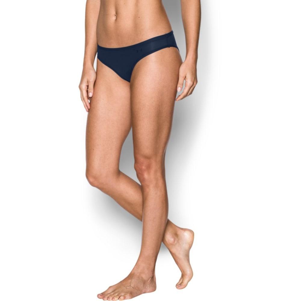 UNDER ARMOUR Women's Pure Stretch Sheer Bikini Underwear - MIDNIGHT-410