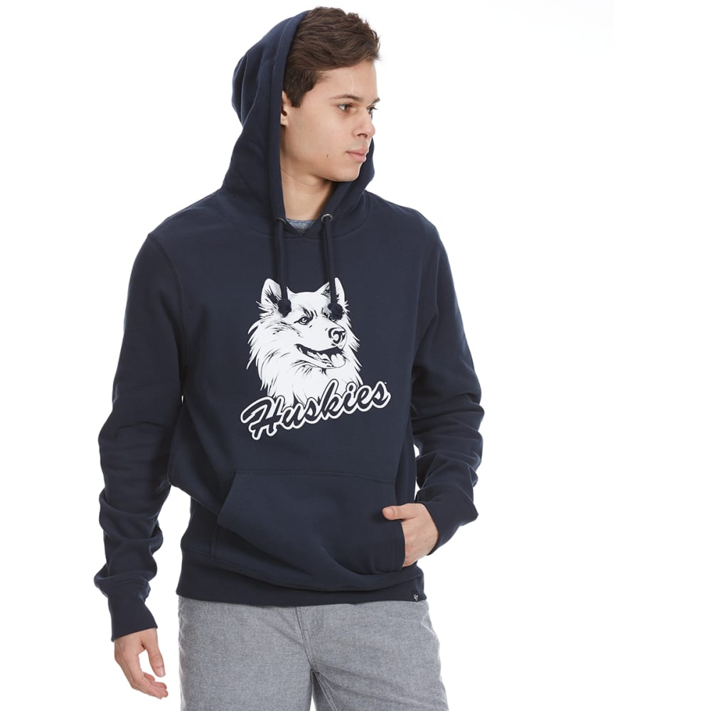 UCONN Men's '47 Headline Graphic Pullover Hoodie - NAVY