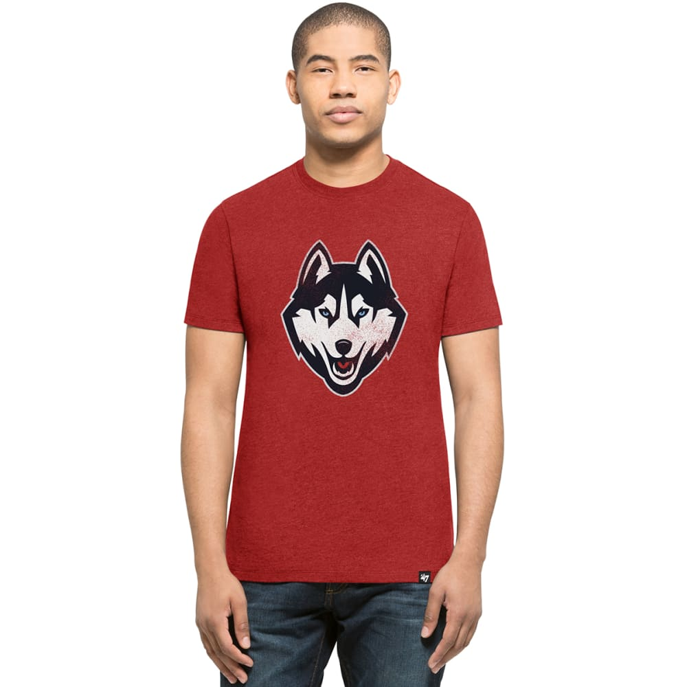 Uconn Men's Knockaround '47 Club Logo Short-Sleeve Tee - Red, L