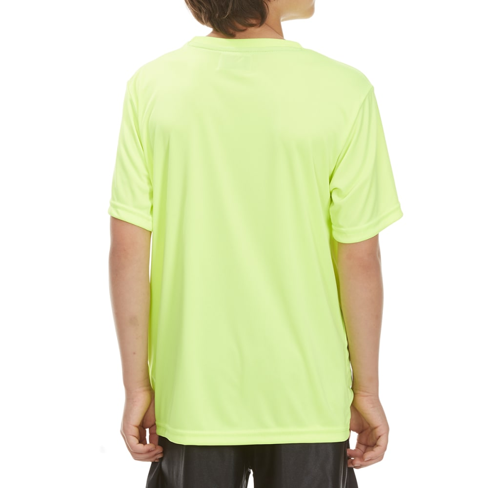 "RBX Boys' ""Tougher"" Short-Sleeve Tee - NEON YELLOW"