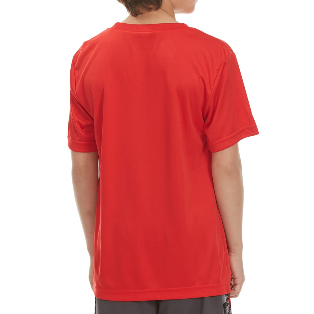 """RBX Boys' """"Boost Your Game"""" Short-Sleeve Tee - RED"""