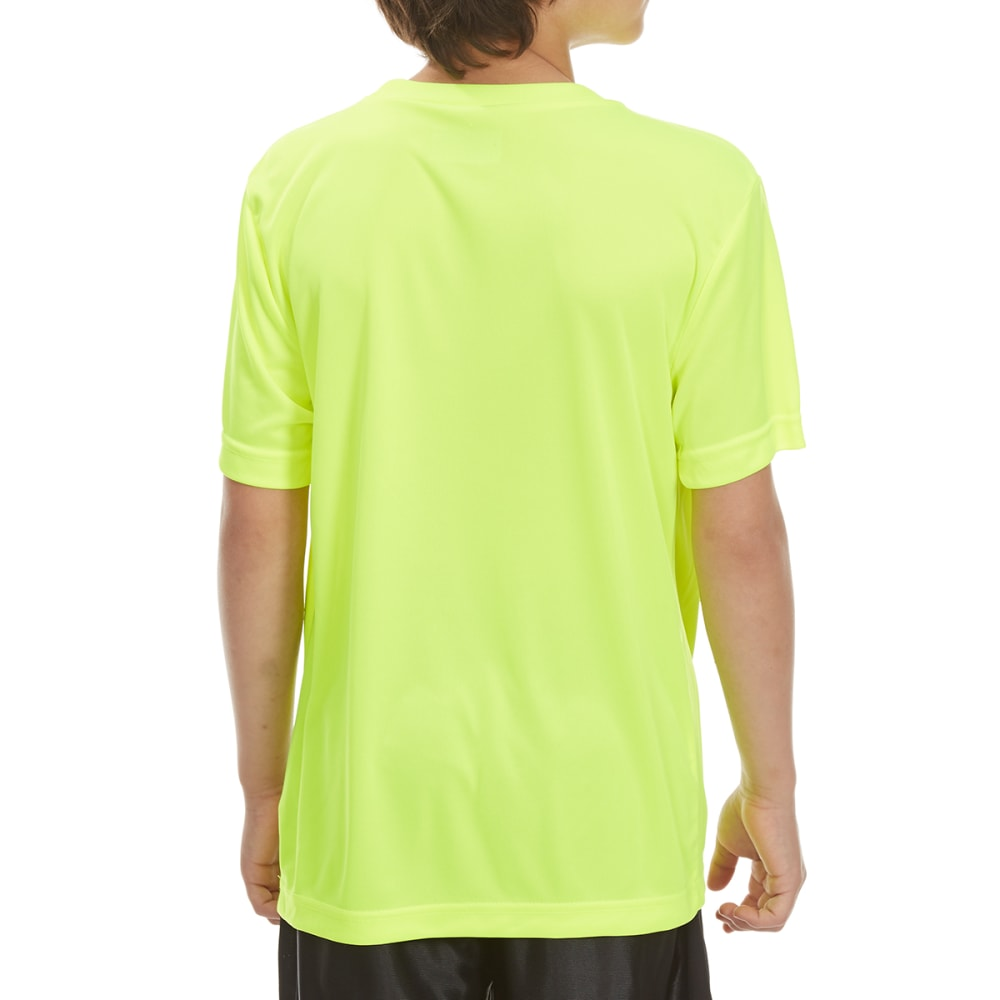 "RBX Boys' ""Pure Control"" Short-Sleeve Tee - NEON YELLOW"