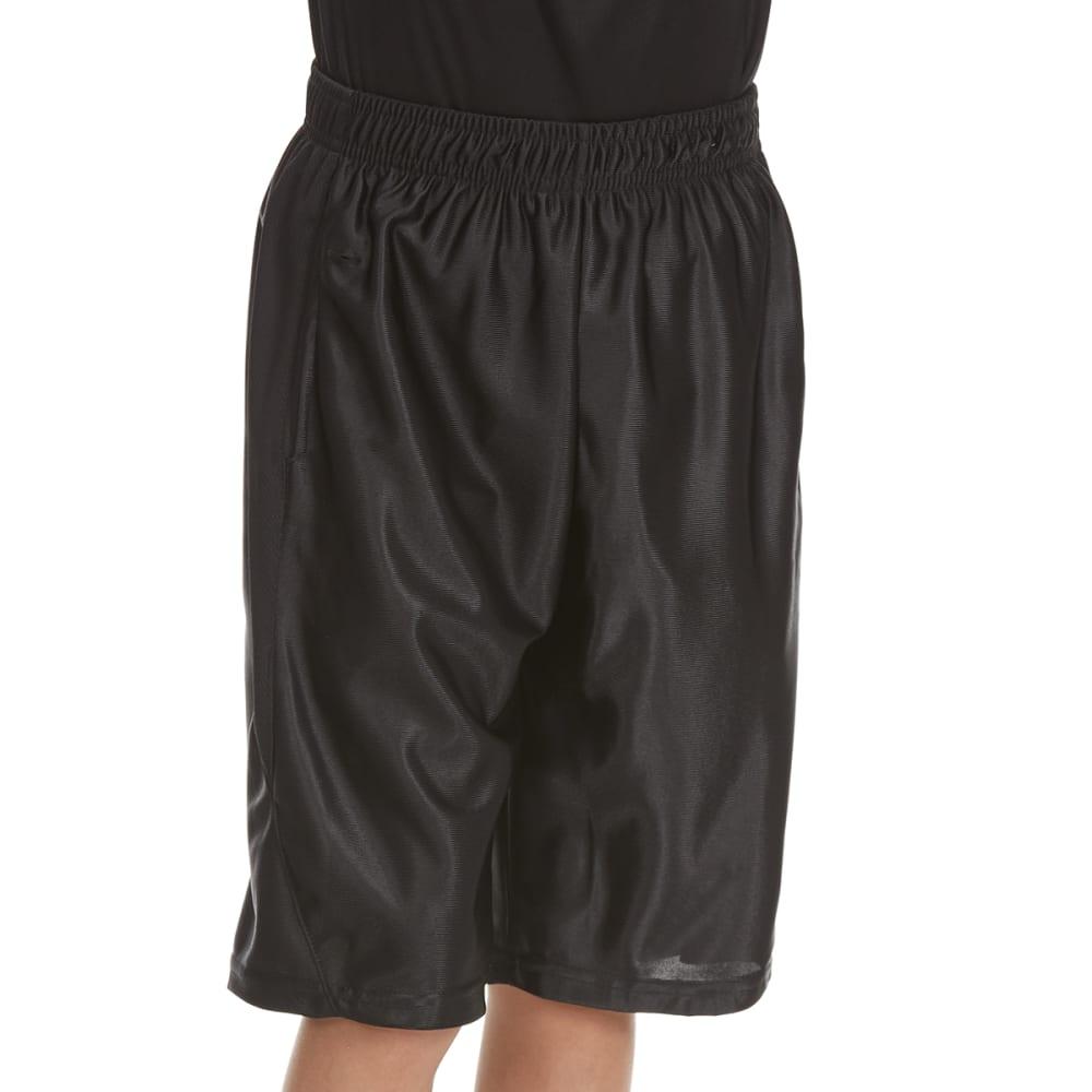 RBX Boys' Lightning Solid Dazzle Shorts - BLACK