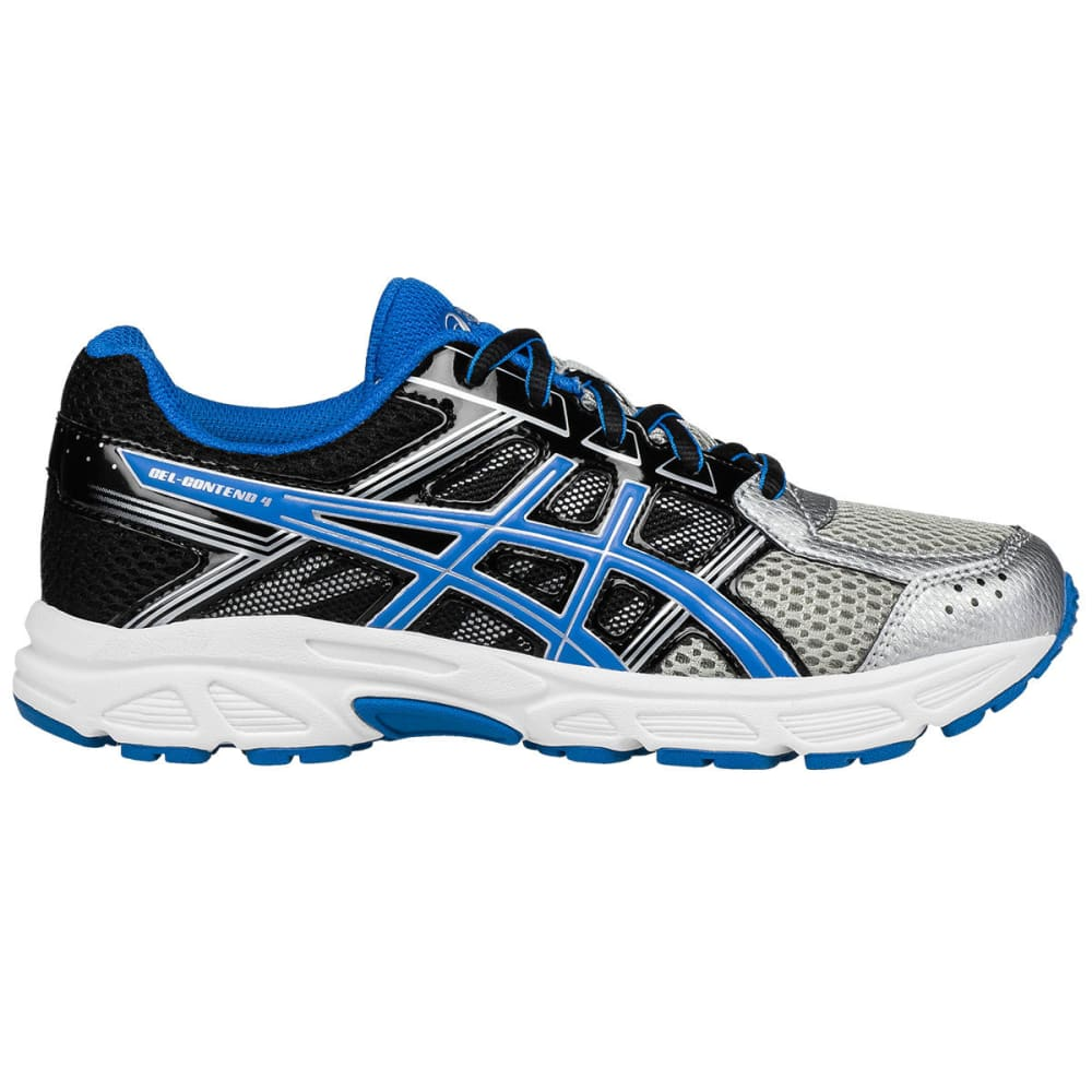 Asics Grade School Boys' Gel-Contend 4 Gs Running Shoes - Black, 3.5