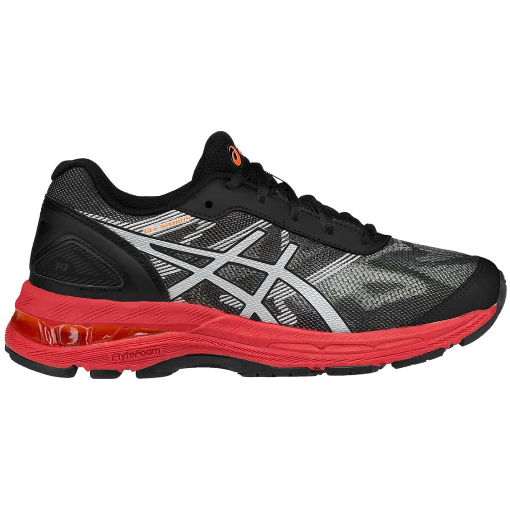ASICS Grade School Boys' Gel-Nimbus 19 GS Running Shoes - BLACK