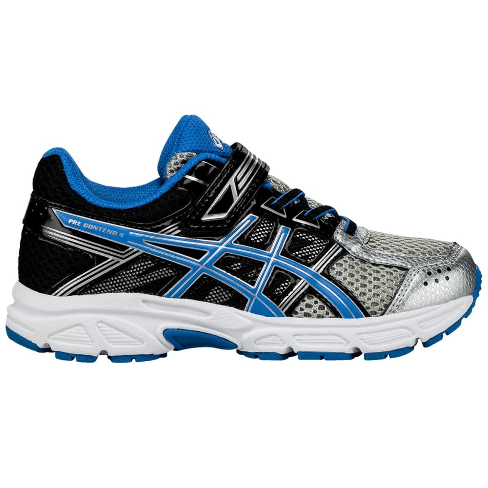 ASICS Preschool Boys' Pre-Contend 4 PS Running Shoes - SILVER
