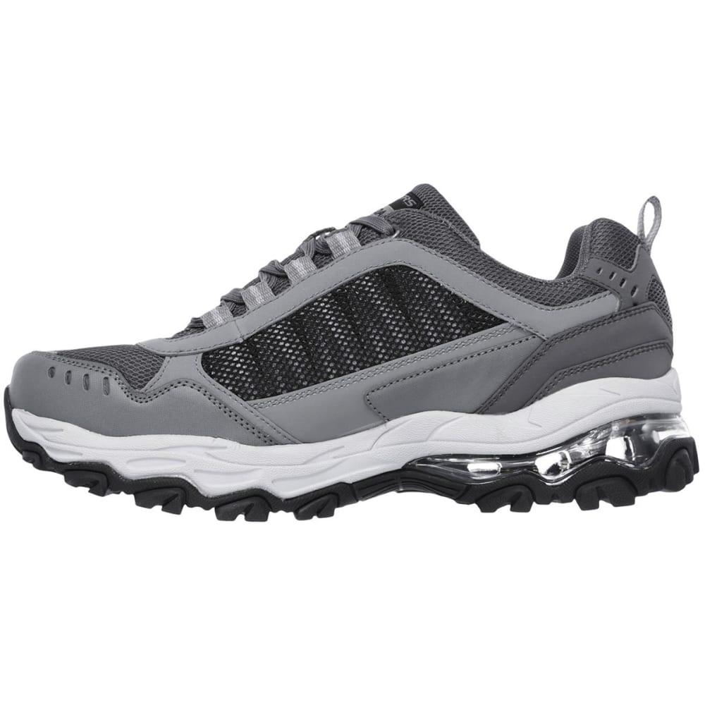 SKECHERS Men's After Burn M. Fit - Air Sneakers, Grey/Black - GREY-GYBK