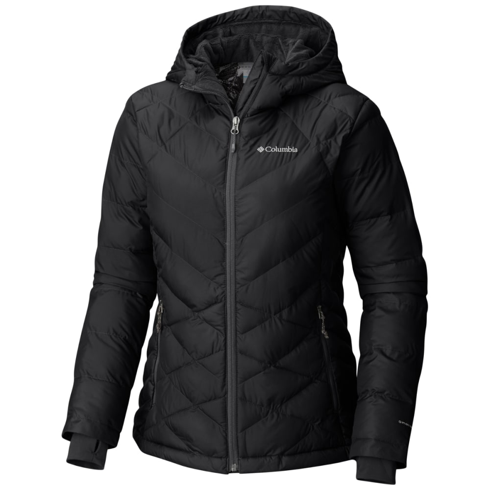 COLUMBIA Women's Heavenly Hooded Jacket - 010-BLACK