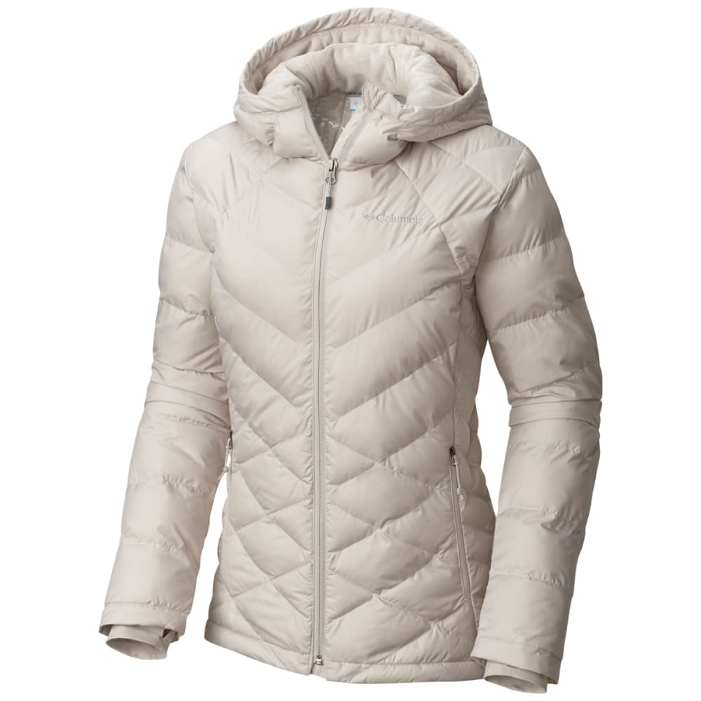 Columbia Women's Heavenly Hooded Jacket - White, L