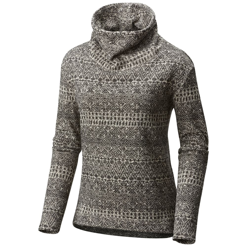 COLUMBIA Women's Sweater Season™ Printed Long-Sleeve Pullover - 191-CHALK