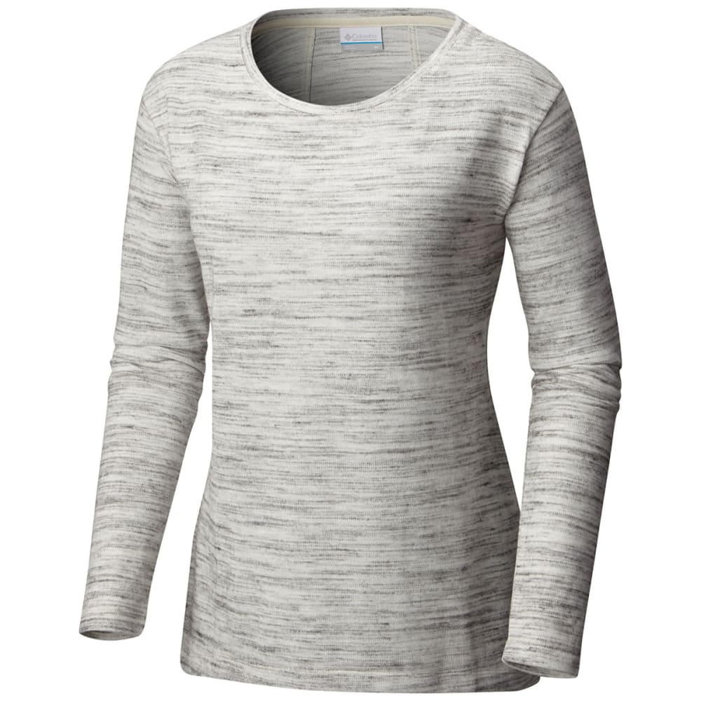 COLUMBIA Women's By the Hearth Sweater - 191-CHALK