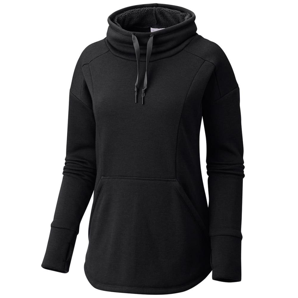 COLUMBIA Women's Week to Weekend Long-Sleeve Pullover - 010-BLACK