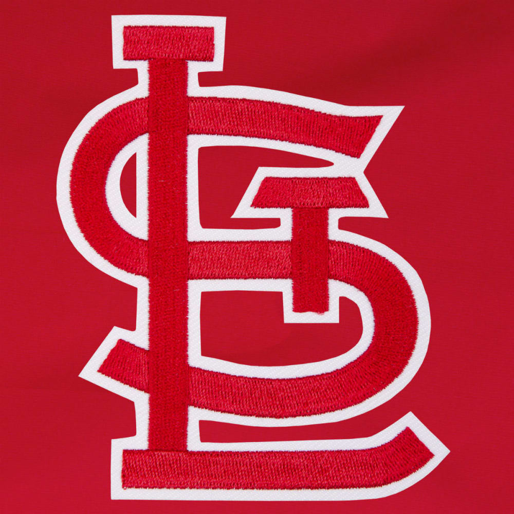 JH DESIGN Men's MLB St. Louis Cardinals Reversible Fleece Hooded Jacket - GREY RED