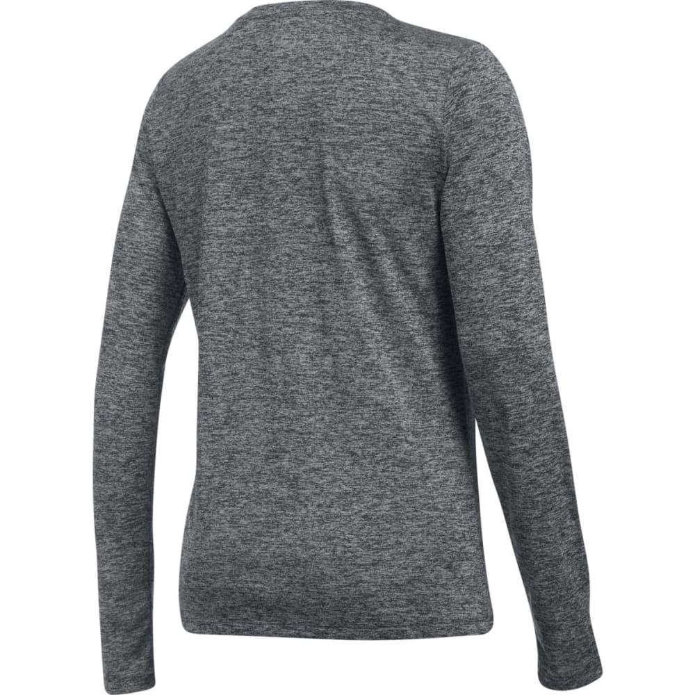 UNDER ARMOUR Women's UA Tech™ Twist Crew Long-Sleeve Shirt - BLACK-001