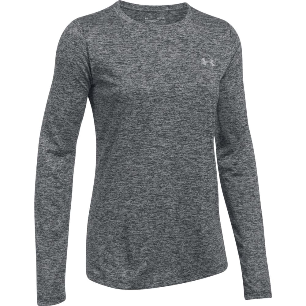 UNDER ARMOUR Women's UA Tech™ Twist Crew Long-Sleeve Shirt - BLACK-001
