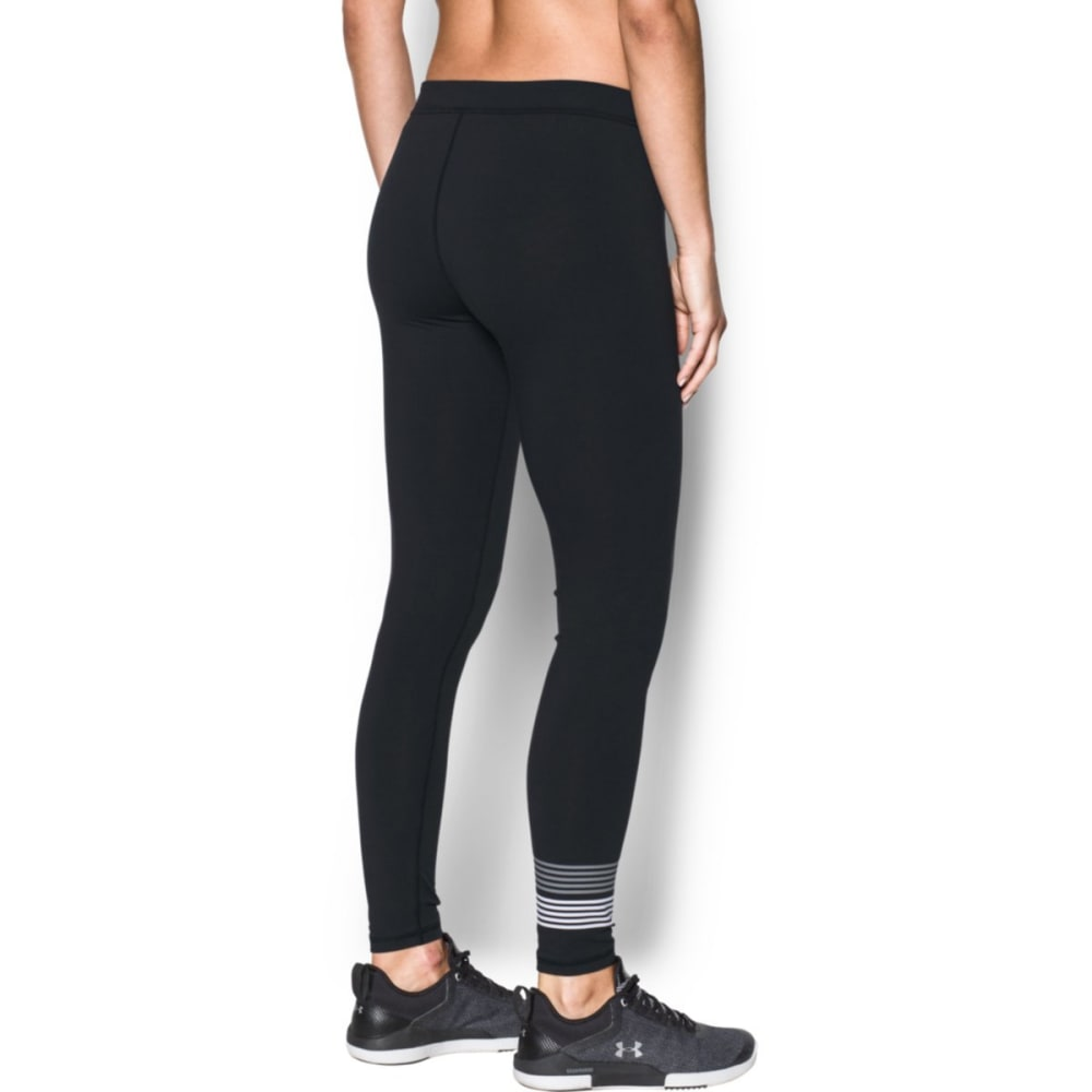 UNDER ARMOUR Women's Favorite Graphic Leggings - BLACK/WHITE-001