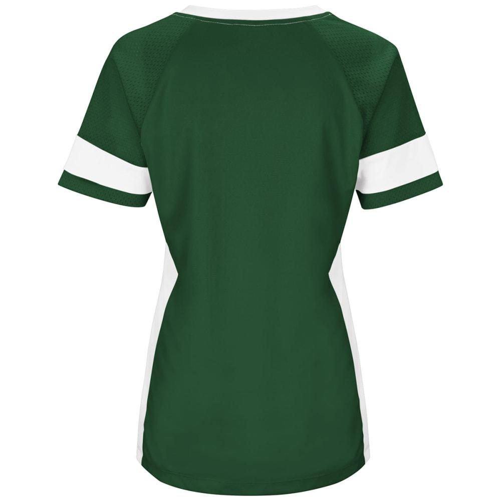 NEW YORK JETS Women's Draft Me Jersey Short-Sleeve Top - GREEN