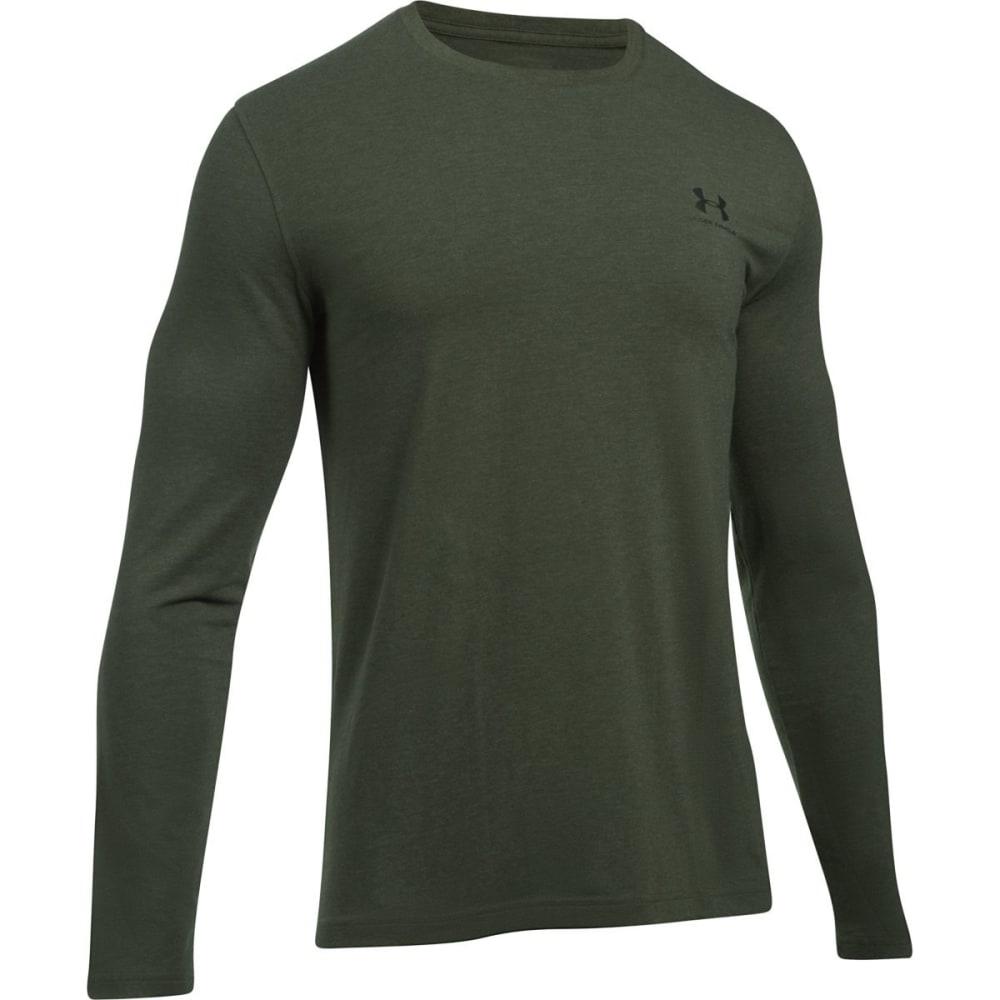 UNDER ARMOUR Men's Chest Logo Long-Sleeve Tee XL
