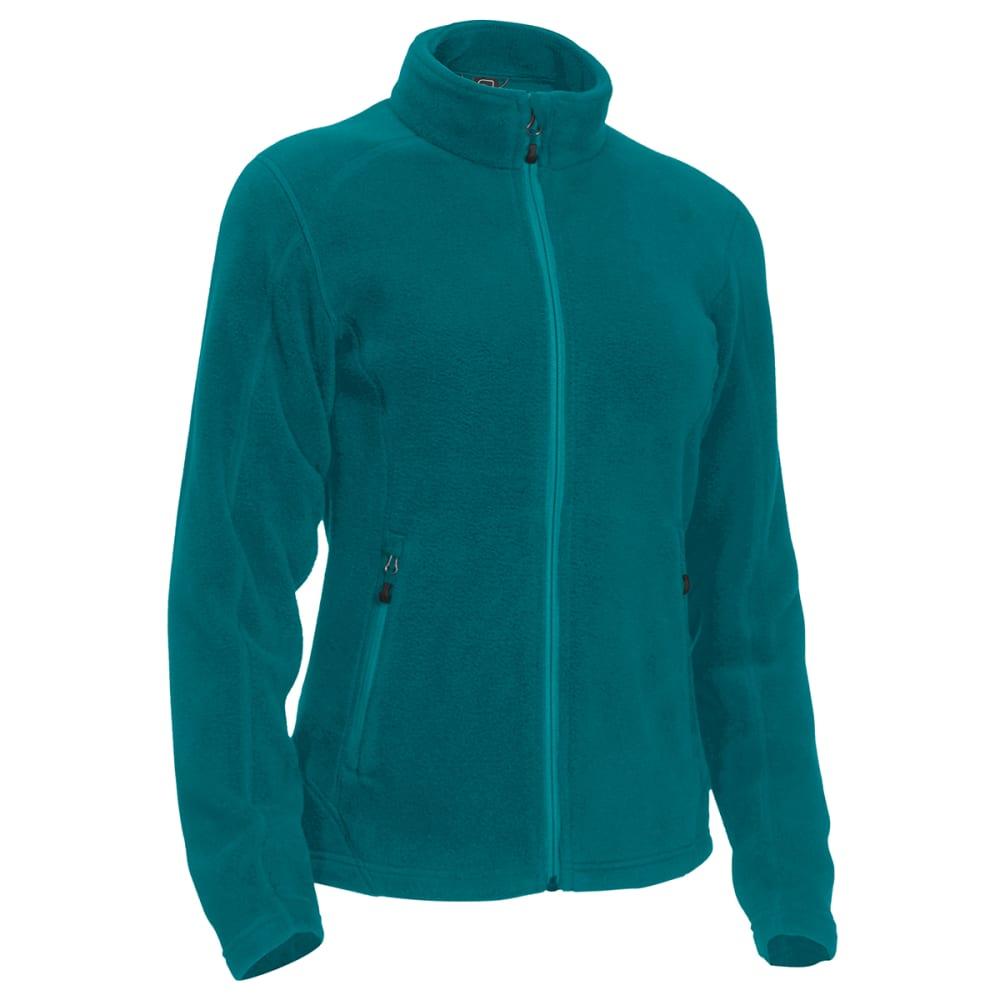 EMS Women's Classic 200 Fleece Jacket - QUETZAL GREEN