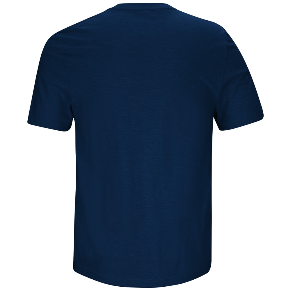 NEW ENGLAND PATRIOTS Men's Line of Scrimmage Short-Sleeve Tee - NAVY