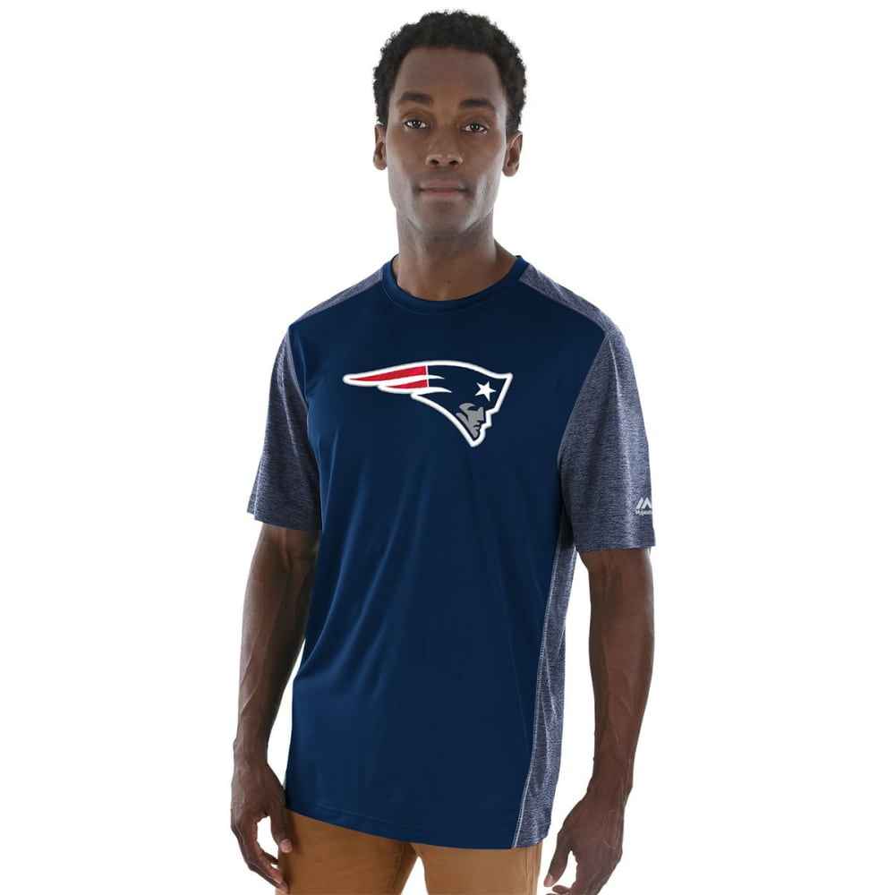 NEW ENGLAND PATRIOTS Men's Unmatched Short-Sleeve Tee - NAVY