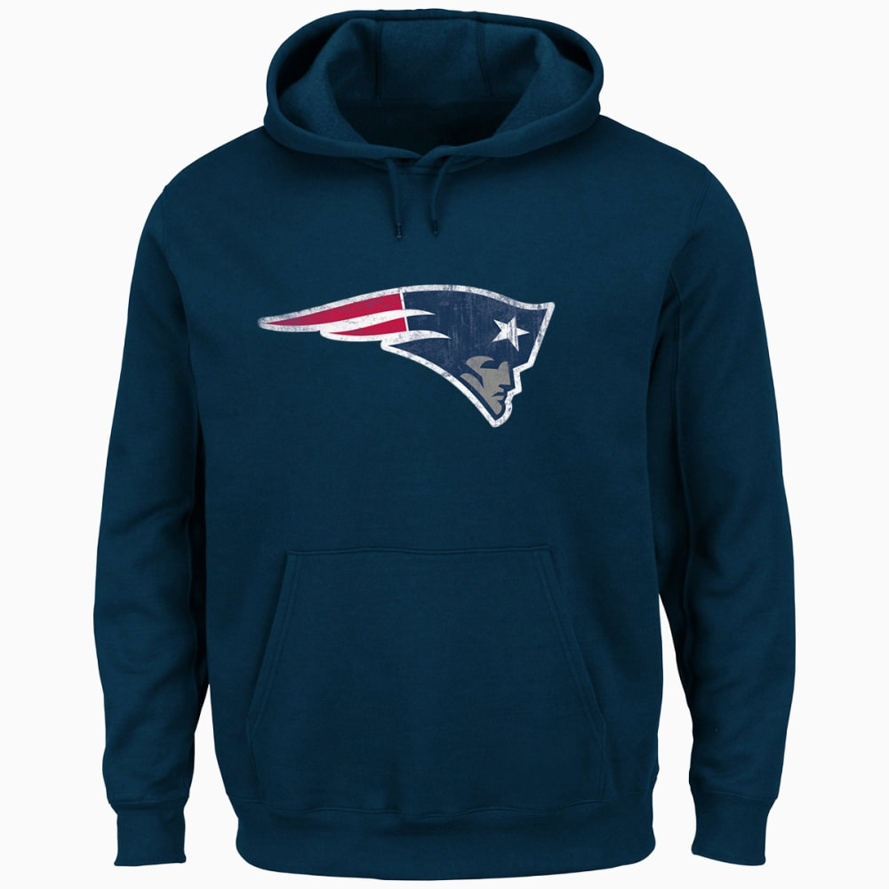 NEW ENGLAND PATRIOTS Men's Gameday Classic Pullover Hoodie - NAVY