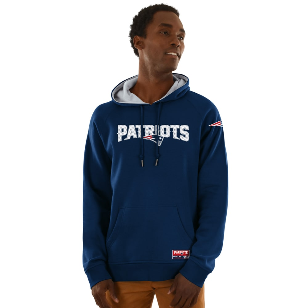 NEW ENGLAND PATRIOTS Men's Championship Pullover Hoodie - NAVY