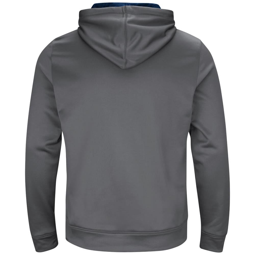 NEW ENGLAND PATRIOTS Men's Armor Pullover Hoodie - GREY