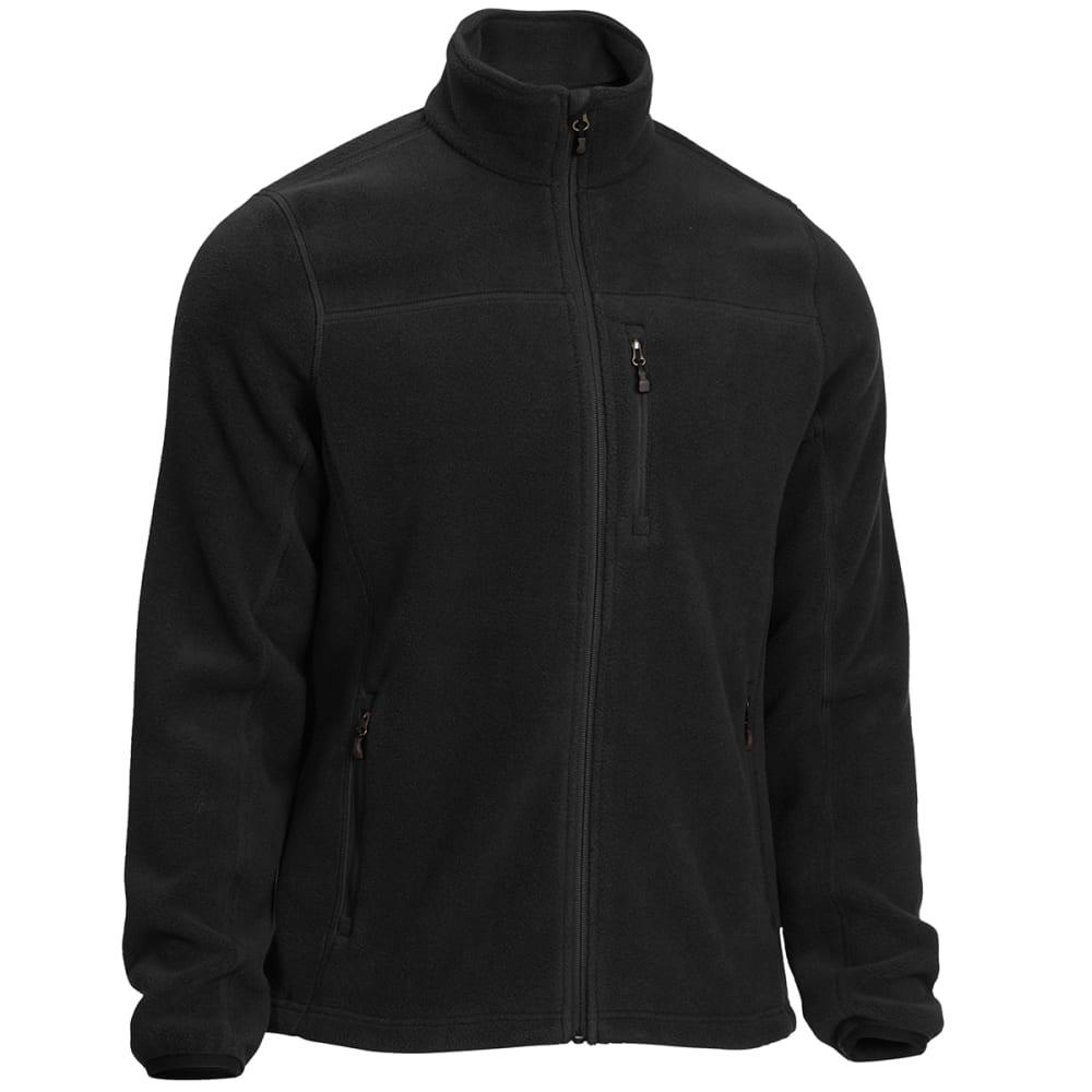 EMS Men's Classic 200 Fleece Jacket - BLACK