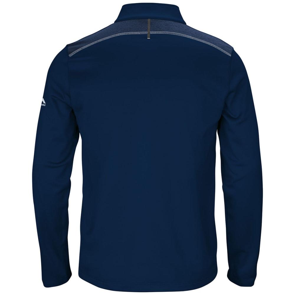 NEW ENGLAND PATRIOTS Men's Across the Scoreboard Fleece ½-Zip Pullover - NAVY