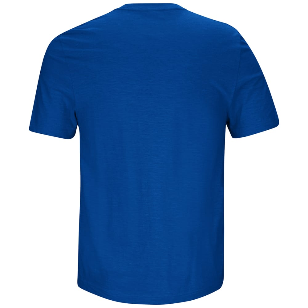 NEW YORK GIANTS Men's Line of Scrimmage Short-Sleeve Tee - ROYAL BLUE