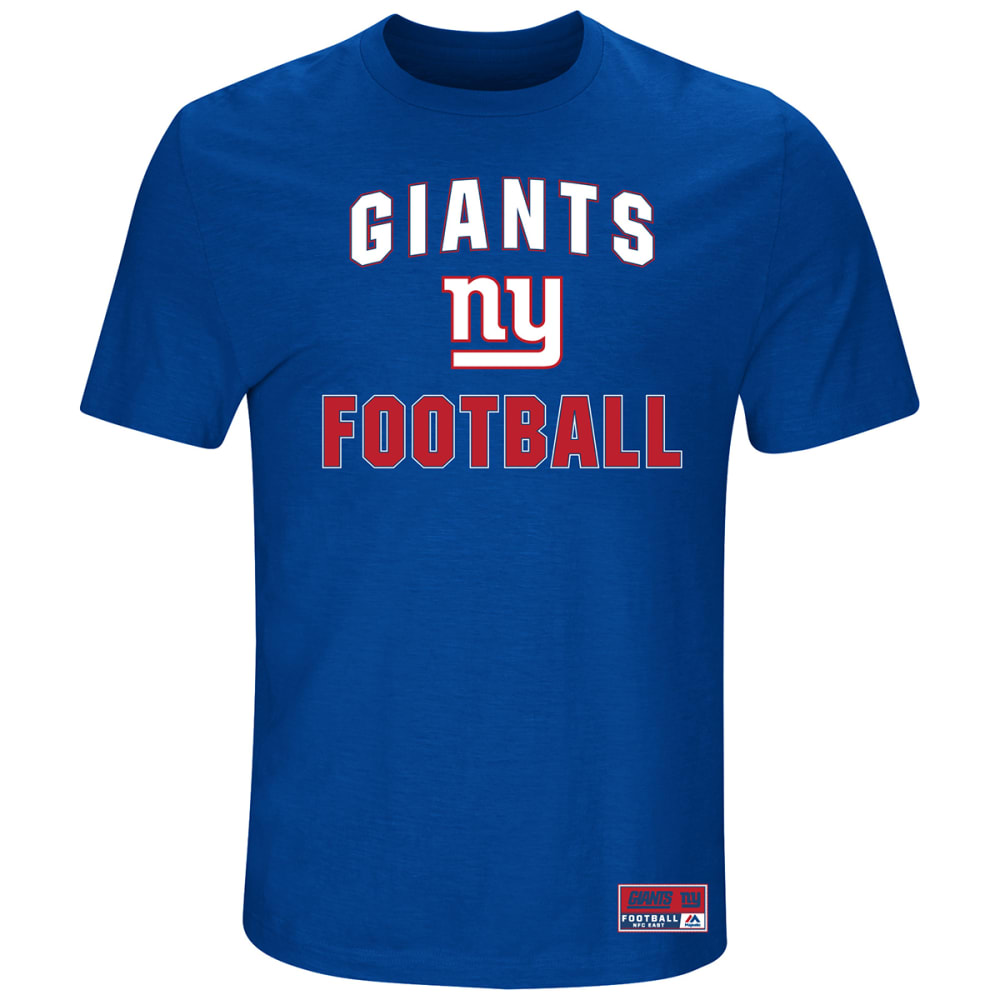NEW YORK GIANTS Men's Line of Scrimmage Short-Sleeve Tee M