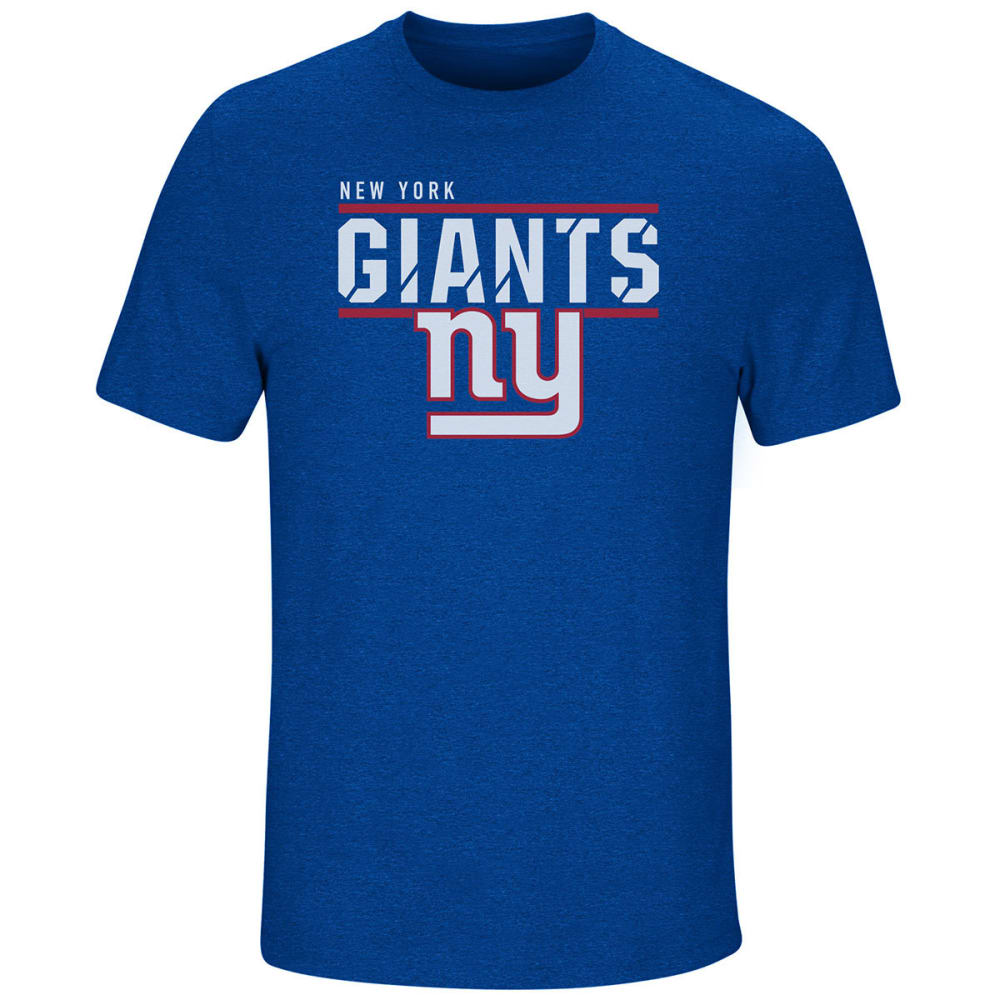 NEW YORK GIANTS Men's Flex Team Short-Sleeve Tee - ROYAL BLUE