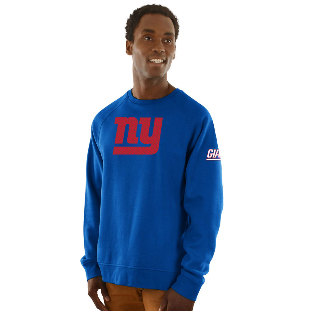 NEW YORK GIANTS Men's Classic Crew Sweatshirt - ROYAL BLUE