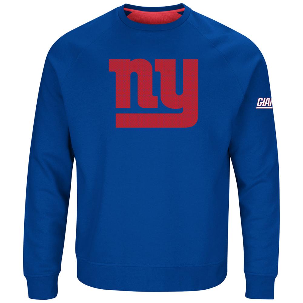 NEW YORK GIANTS Men's Classic Crew Sweatshirt - ROYAL BLUE