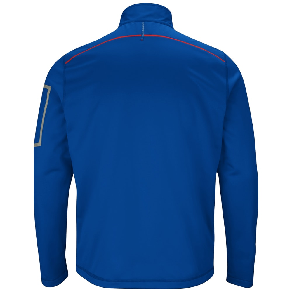 NEW YORK GIANTS Men's Team Tech Full-Zip Fleece - ROYAL BLUE