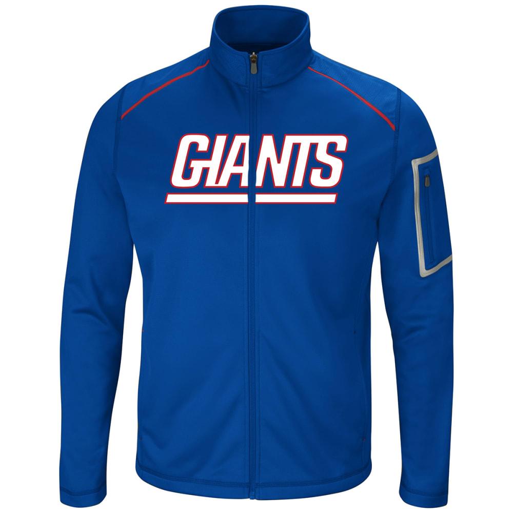 NEW YORK GIANTS Men's Team Tech Full-Zip Fleece L