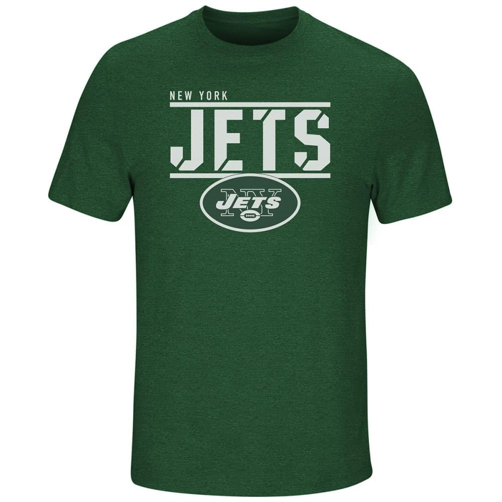 NEW YORK JETS Men's Flex Team Short-Sleeve Tee - DARK GREEN