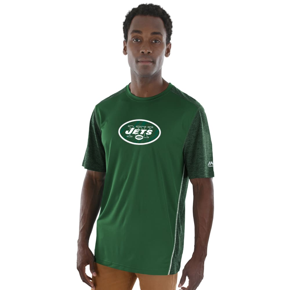 NEW YORK JETS Men's Unmatched Short-Sleeve Tee - DARK GREEN
