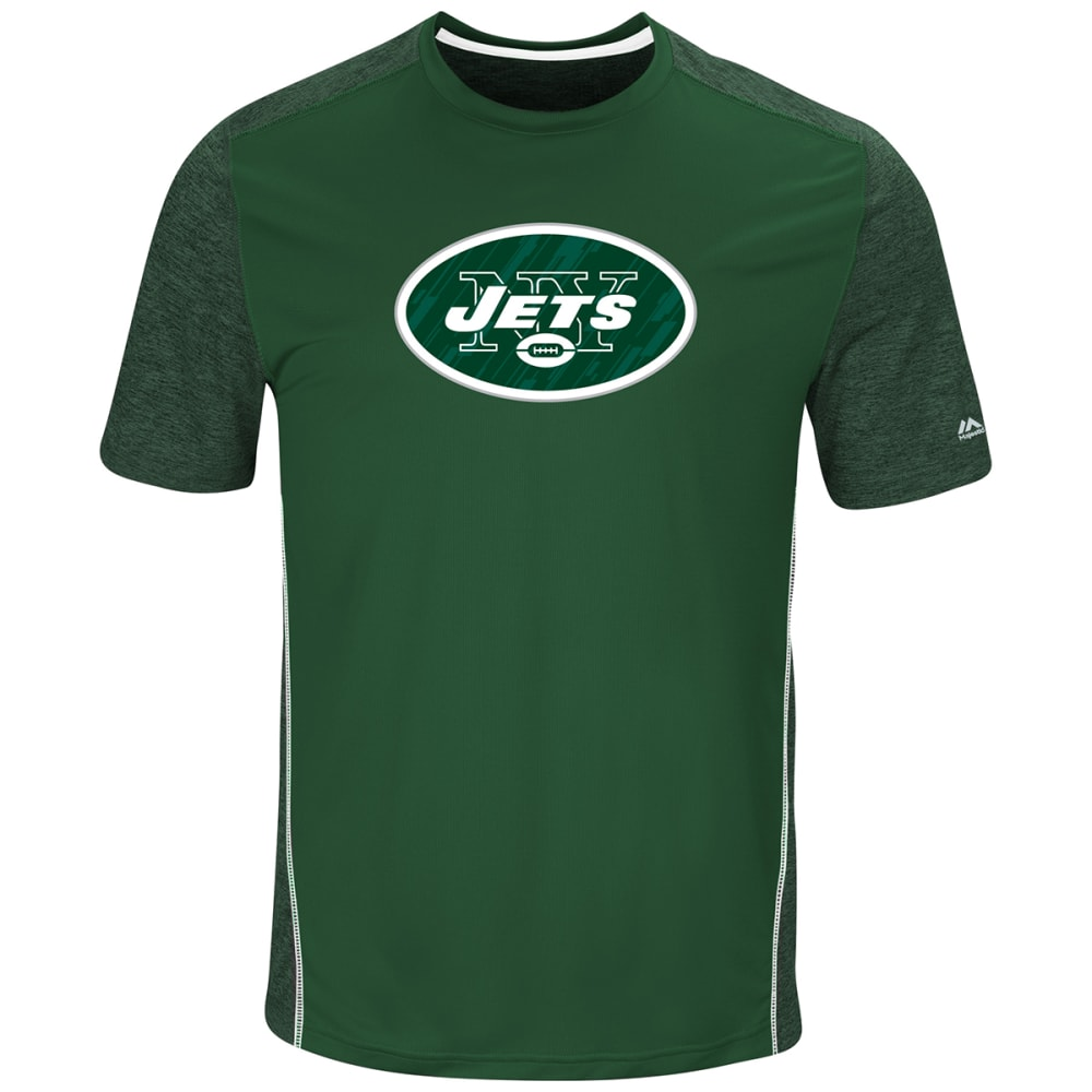 NEW YORK JETS Men's Unmatched Short-Sleeve Tee - DARK GREEN