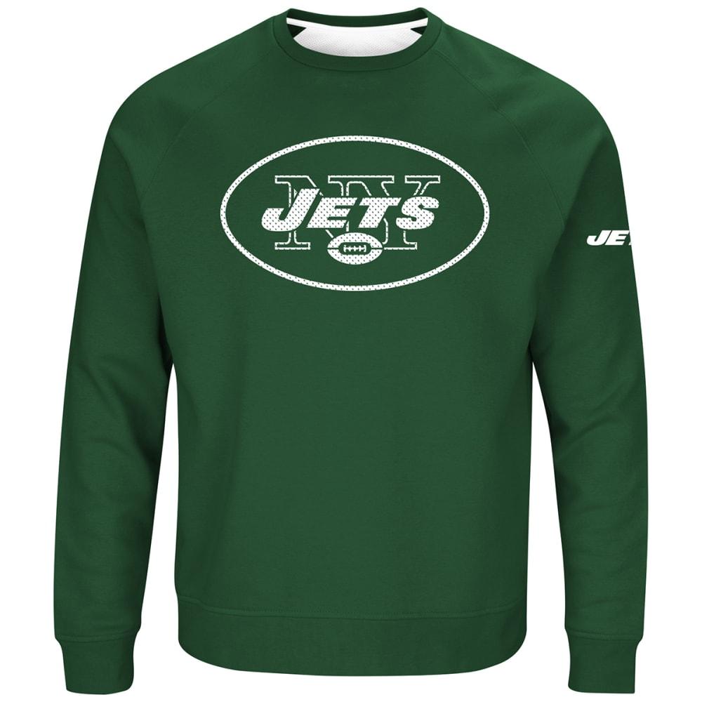 NEW YORK JETS Men's Classic Crew Sweatshirt M