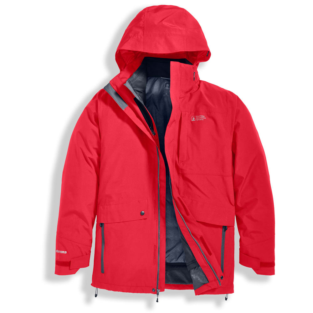 Ems(R) Men's Catskill 3-In-1 Jacket - Red, S